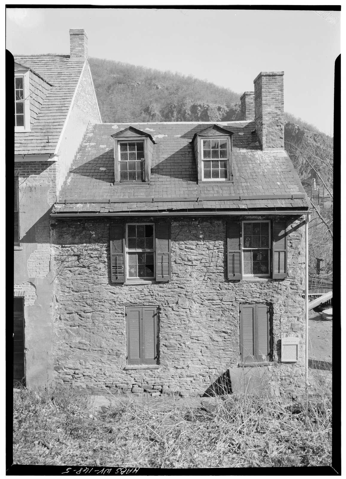Harper House, Harpers Ferry, Jefferson County, WV
