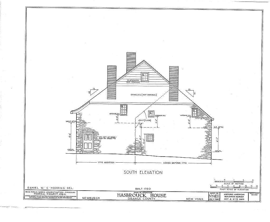 Hasbrouck House, Washington, Liberty, Lafayette, Colden Streets, Newburgh, Orange County, NY