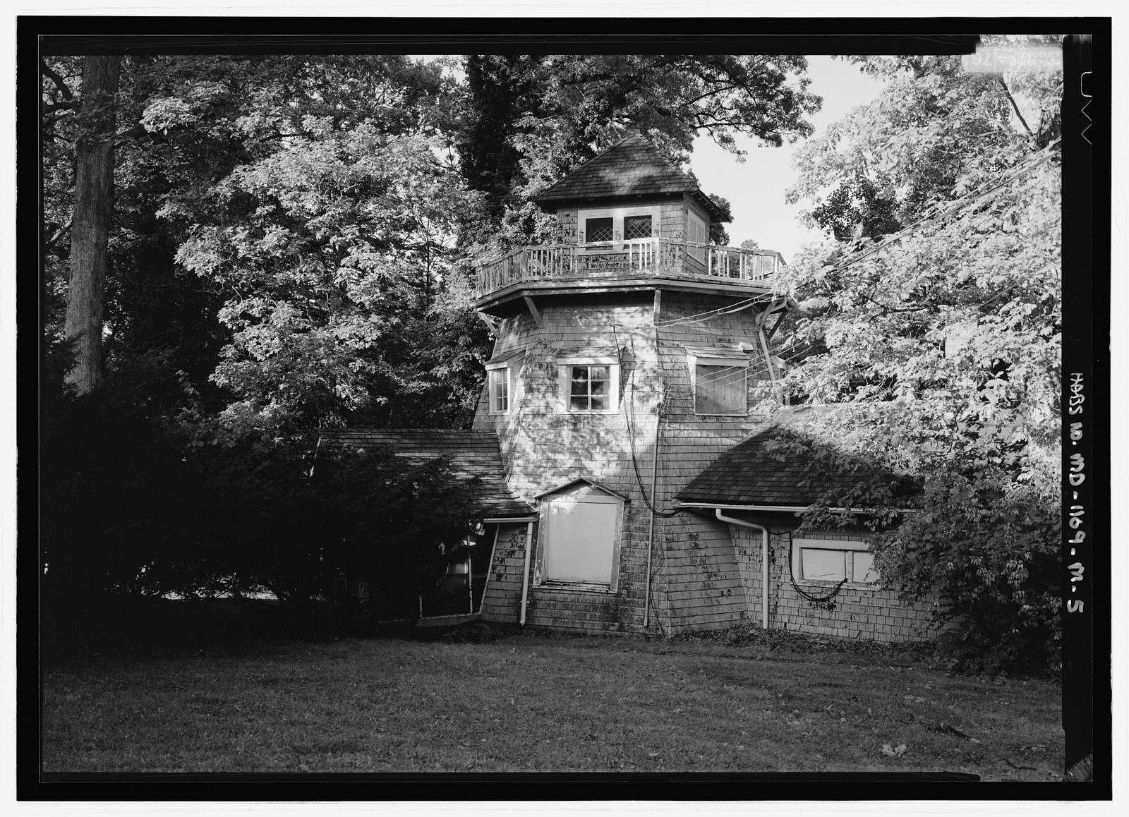 National Park Seminary, Dutch Windmill, 2750 Dewitt Circle, Silver Spring, Montgomery County, MD