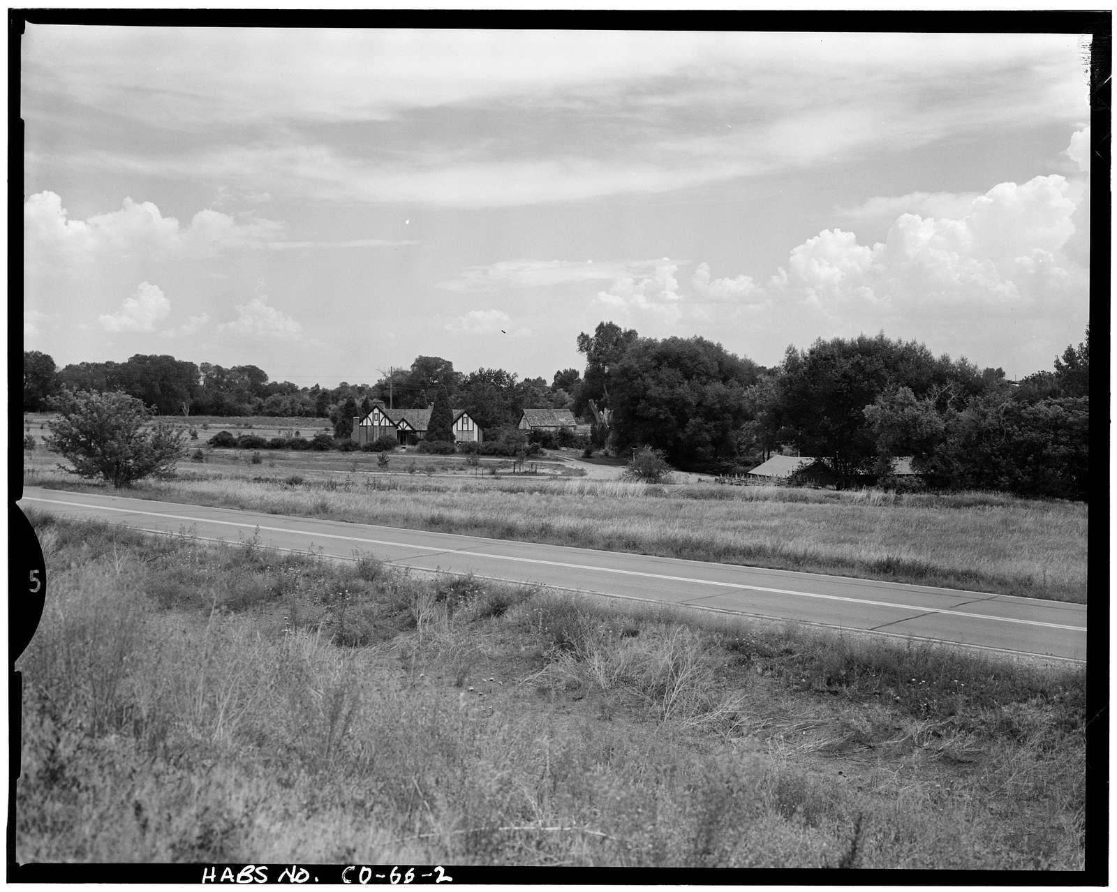 Peterson House, Morrison Road, Bear Creek Lake Park, Lakewood, Jefferson County, CO