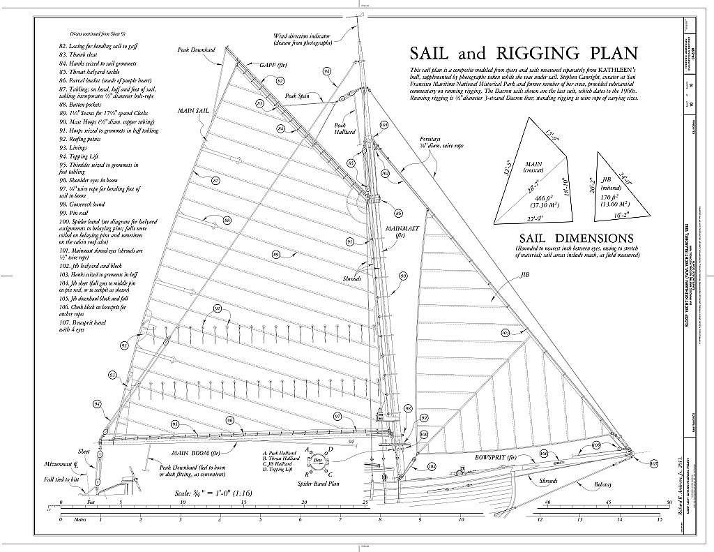 Sloop Yacht Kathleen, San Francisco, San Francisco County, CA