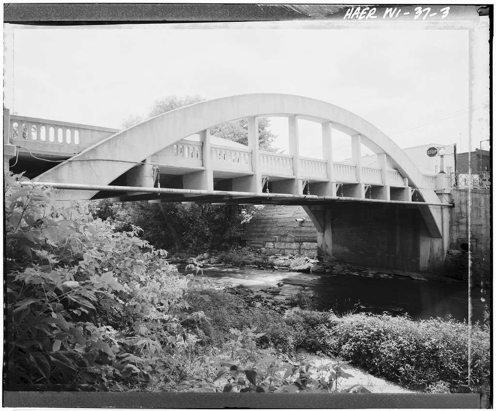 Spring Street Bridge, Spanning Duncan Creek, Chippewa Falls, Chippewa County, WI