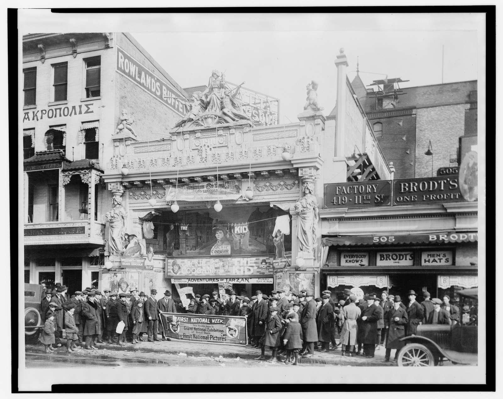 The Leader Theater, 507 Ninth Street, N.W., Washington, D.C.