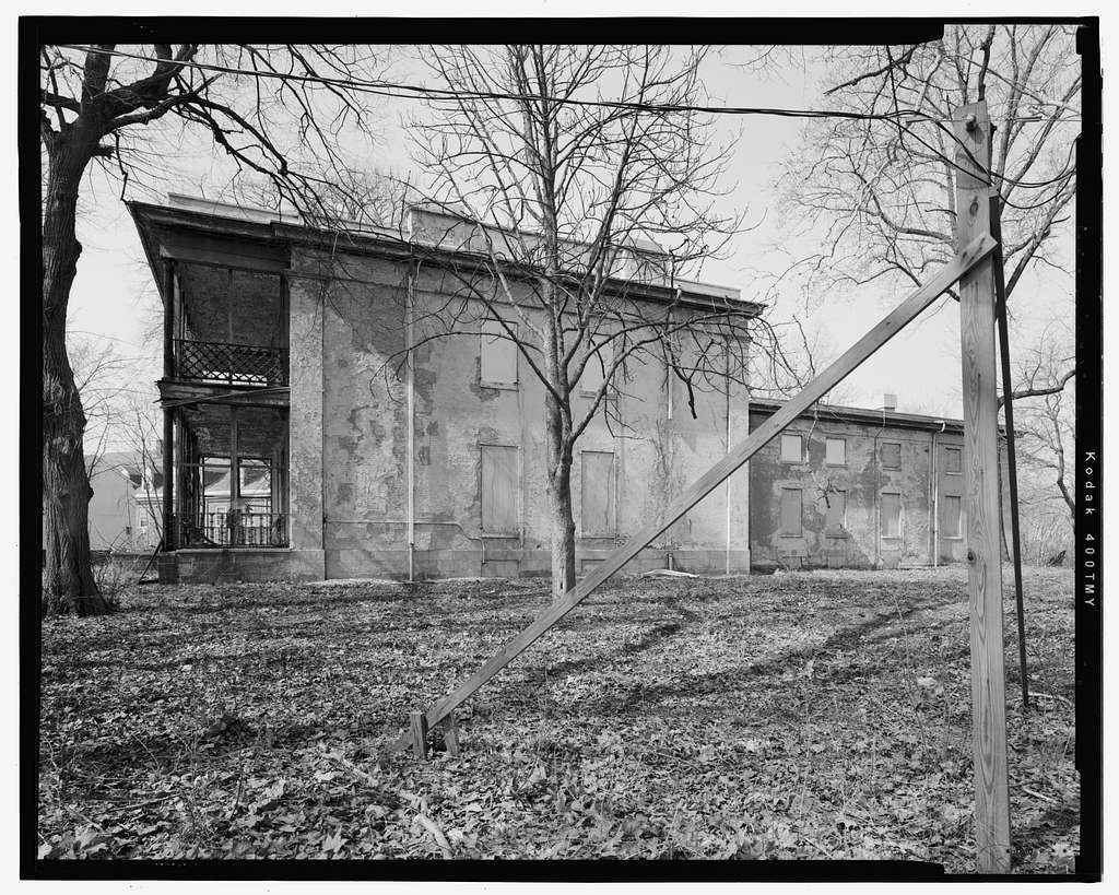 U. S. Naval Asylum, Surgeon's Residence, Gray's Ferry Avenue, Philadelphia, Philadelphia County, PA