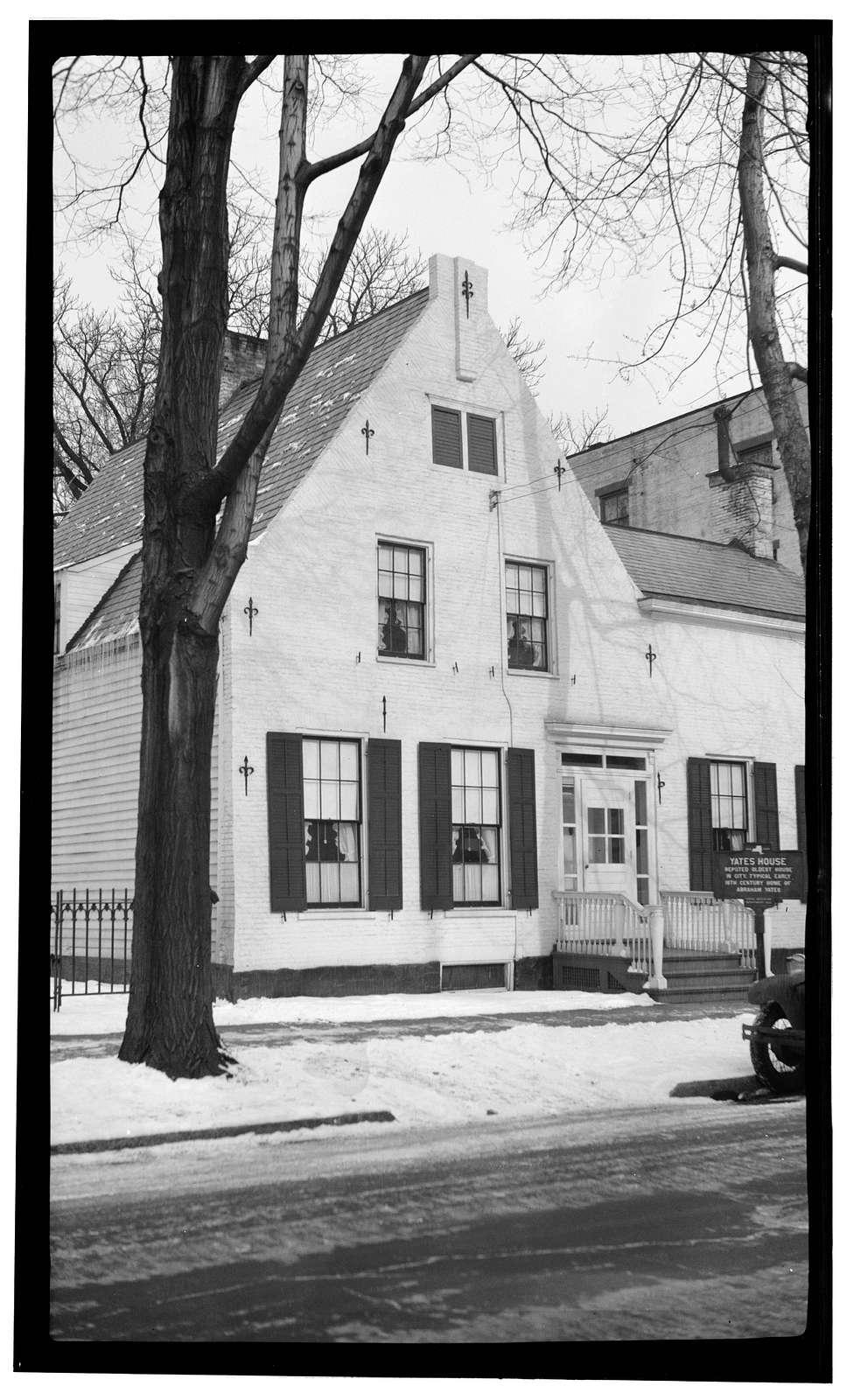 Abraham Yates House, 109 Union Street, Schenectady, Schenectady County, NY