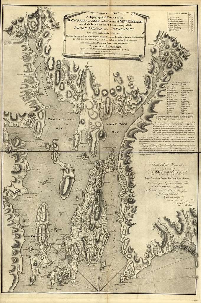 Atlas of the battles of the American Revolution, together with maps shewing the routes of the British and American Armies, plans of cities, surveys of harbors, &c.,
