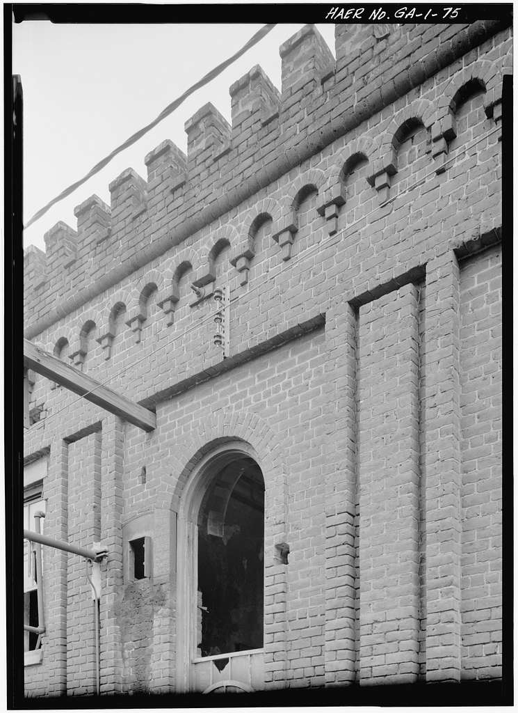 Central of Georgia Railway, Savannah Repair Shops & Terminal Facilities, Engine Boiler & Pattern Building, Bounded by West Broad, Jones, West Boundary & Hull Streets, Savannah, Chatham County, GA