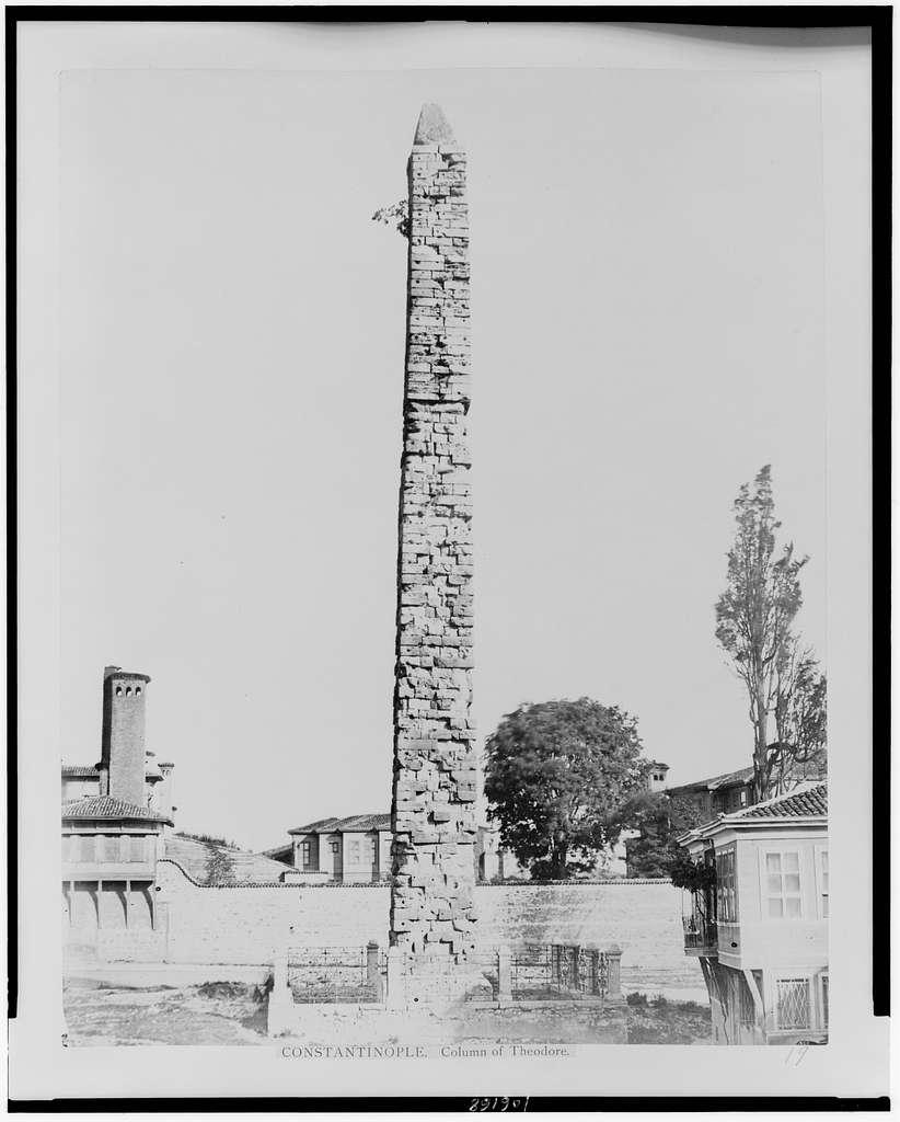 Constantinople. Column of Theodore