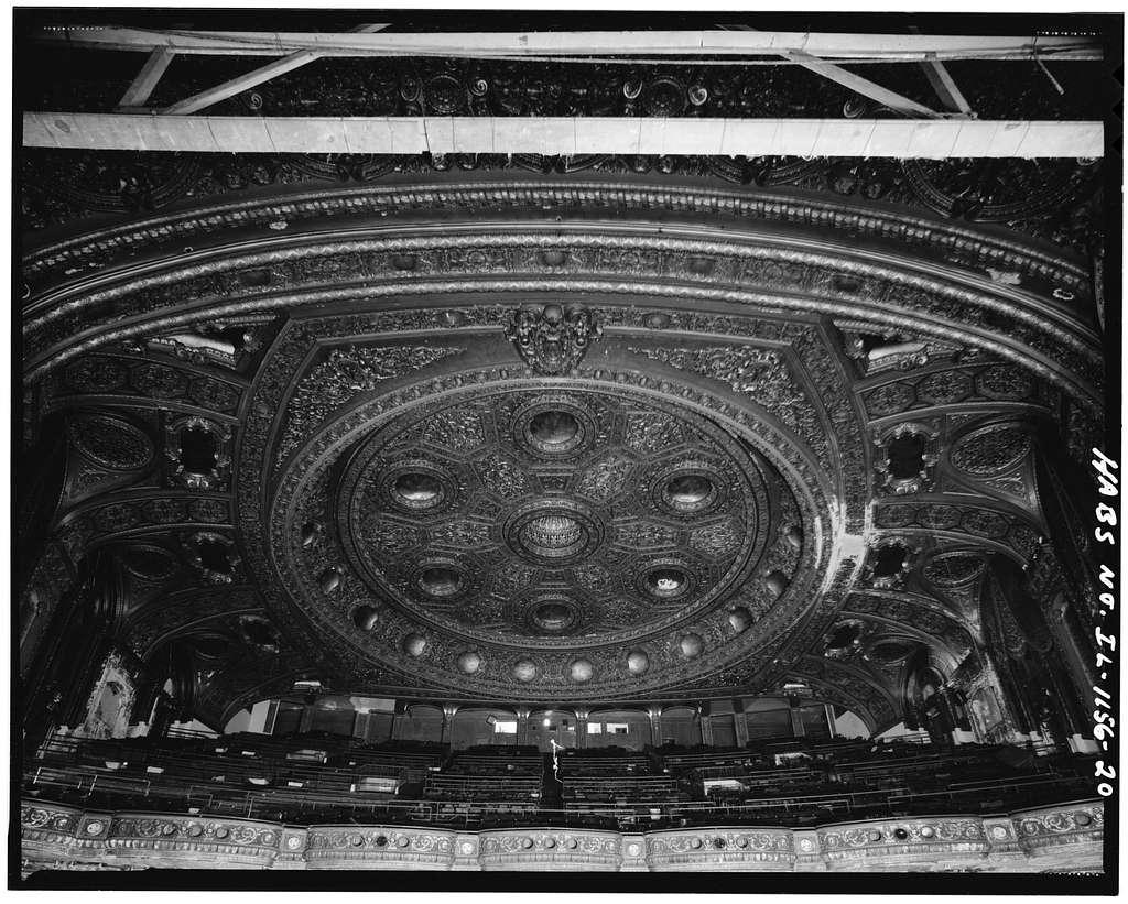 Granada Theatre, 6425-6441 North Sheridan Road, Chicago, Cook County, IL