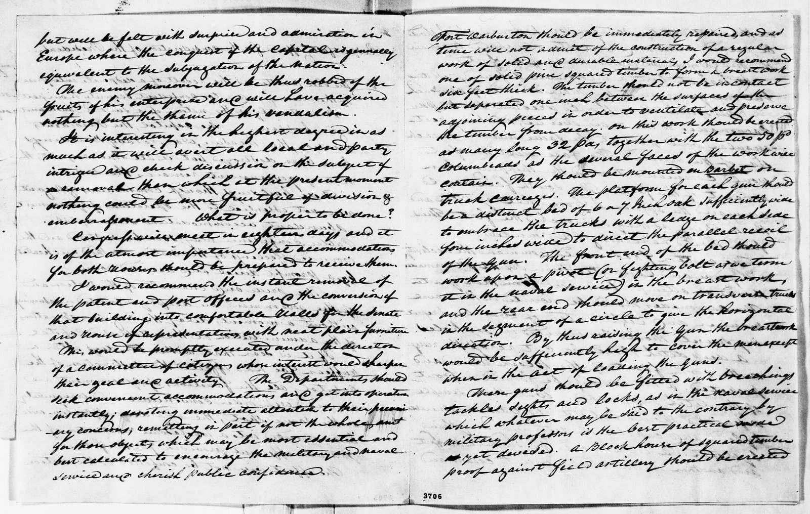 James Monroe Papers: Series 1, General Correspondence, 1758-1839; 1812 Mar. 15-1815 Mar. 16 (Reel 5)