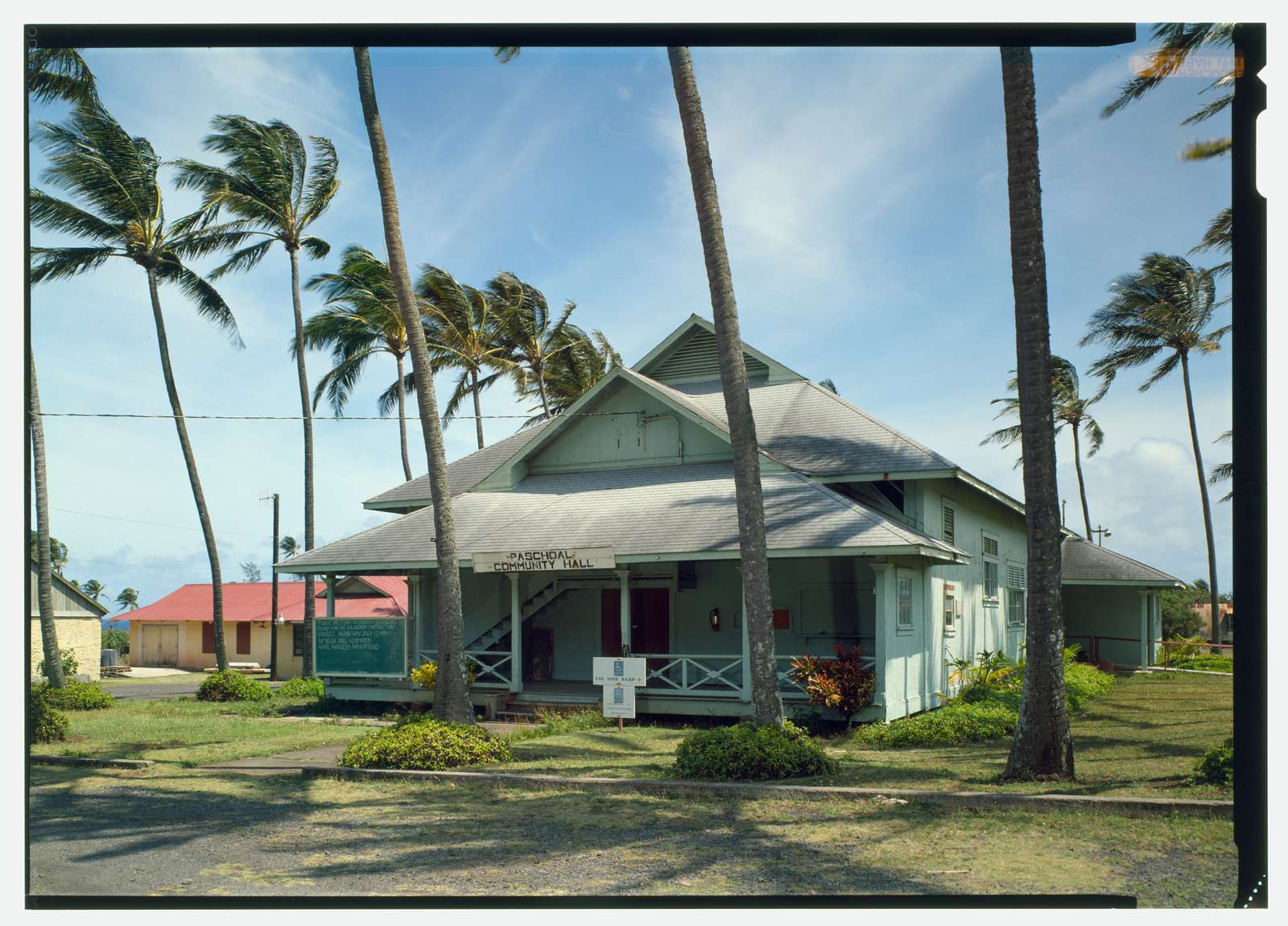Kalaupapa Social Hall, Moloka'i Island, Kalaupapa, Kalawao County, HI
