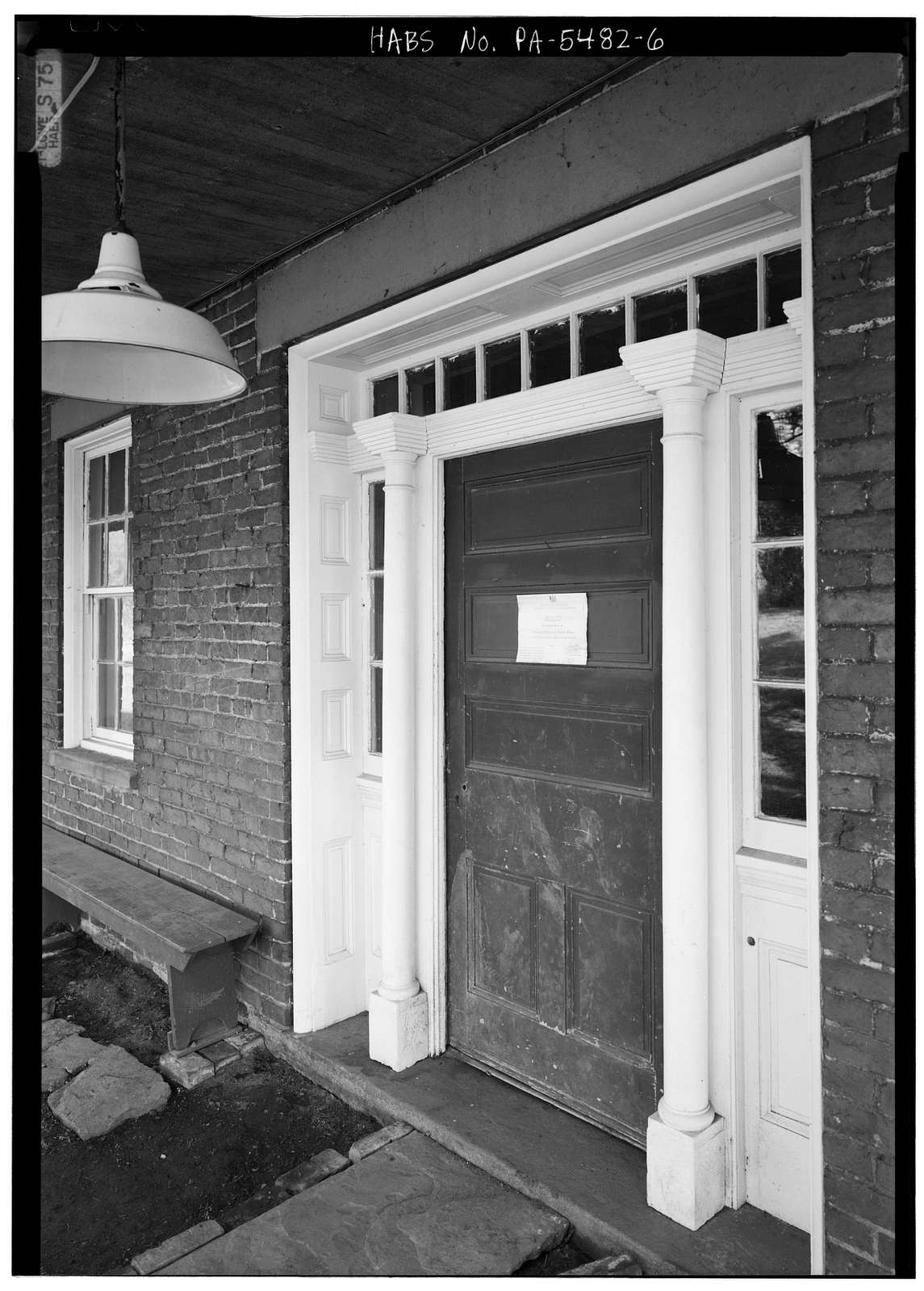 Levi Springer House, Fan Hollow Road, Uniontown, Fayette County, PA