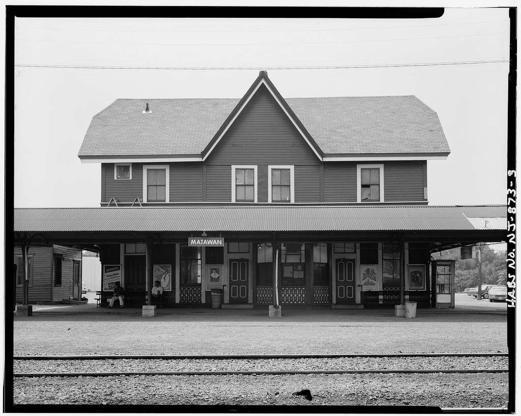 Matawan Passenger Railroad Station, 1 Railroad Plaze, between Main Street & Atlantic Avenue, Matawan, Monmouth County, NJ