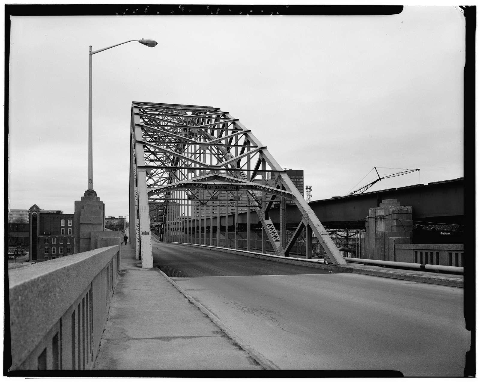 Notre Dame Bridge, Spanning Merrimack River on Bridge Street, Manchester, Hillsborough County, NH