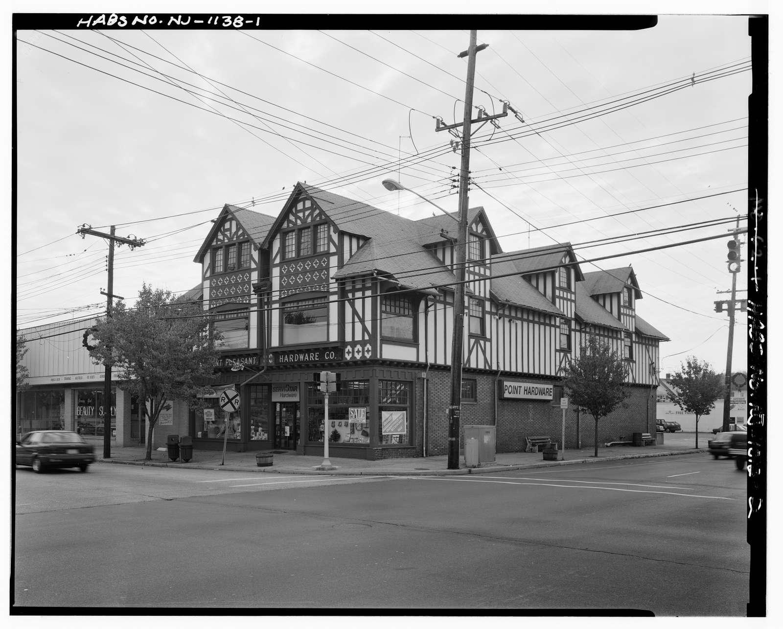 Point Pleasant Hardware Company, 528 Arnold Avenue, Point Pleasant, Ocean County, NJ