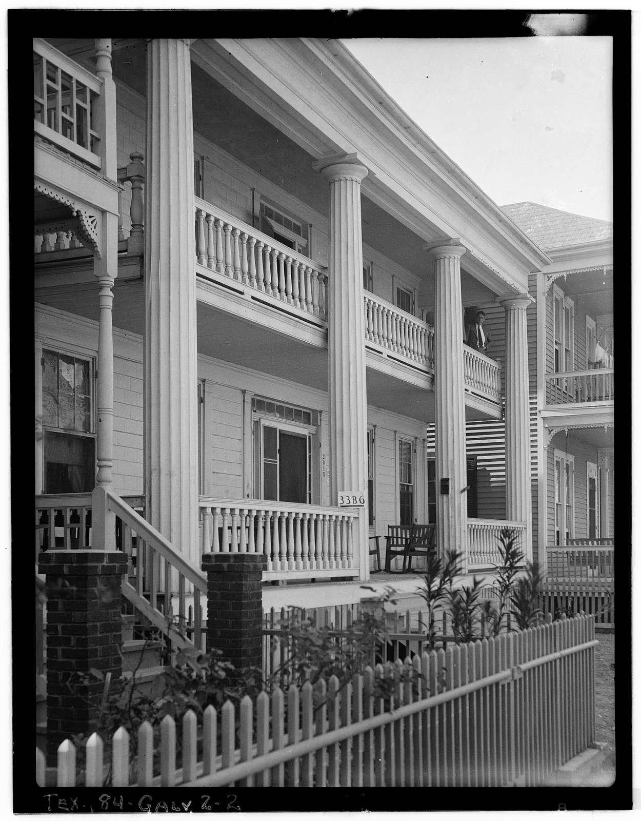 Turner Hall, 2015 Avenue I, Galveston, Galveston County, TX