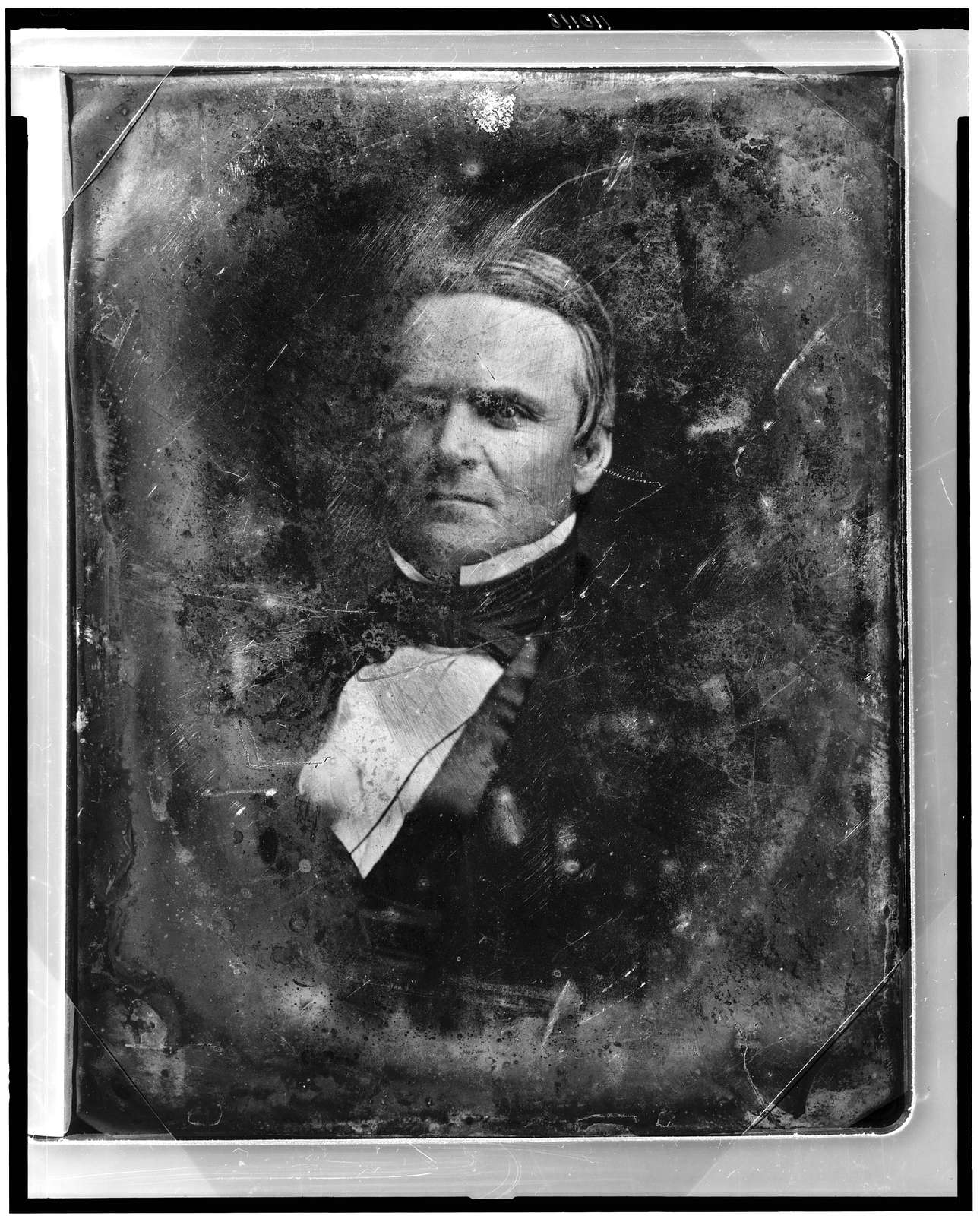[Unidentified man, about 40 years of age, head-and-shoulders portrait, slightly to the left]