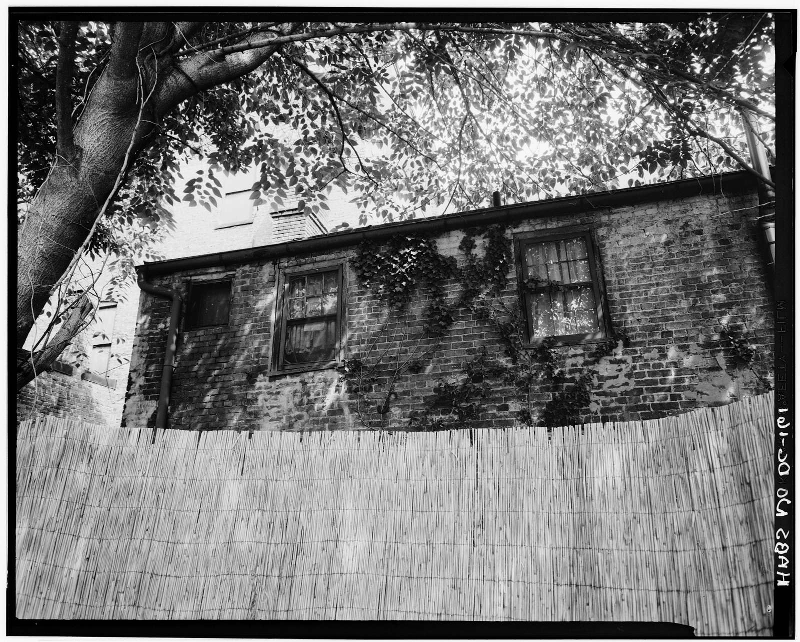 Adams-Mason House, 1072 Thomas Jefferson Street Northwest, Washington, District of Columbia, DC
