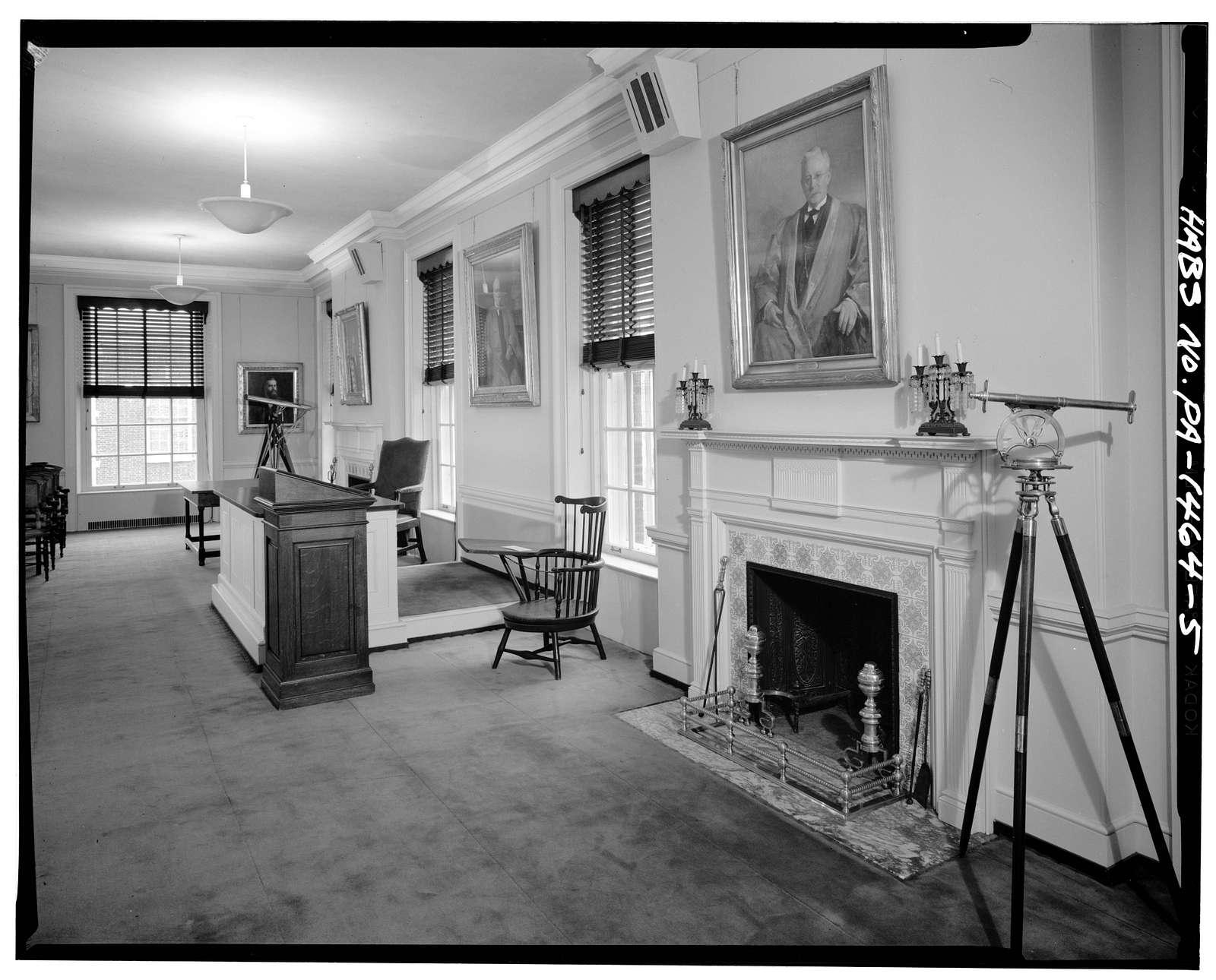 American Philosophical Society, 104 South Fifth Street, Philadelphia, Philadelphia County, PA