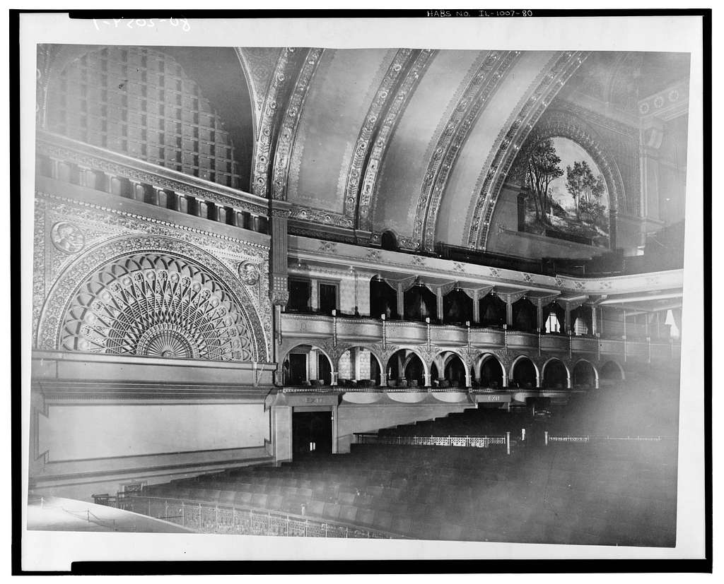 Auditorium Building, 430 South Michigan Avenue, Chicago, Cook County, IL