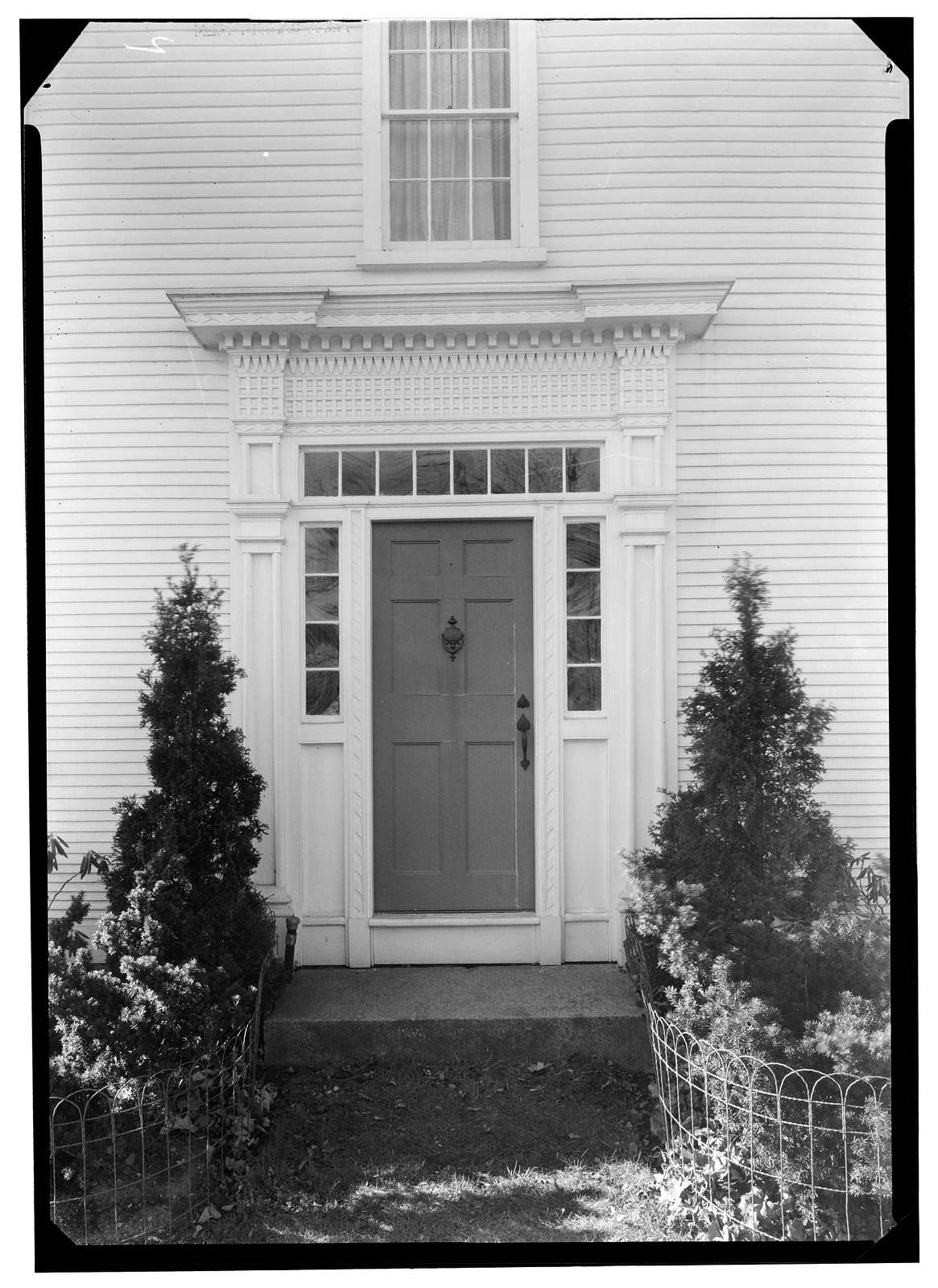Cyrus Cooke House, West Wrentham Road, Cumberland Hill, Providence County, RI