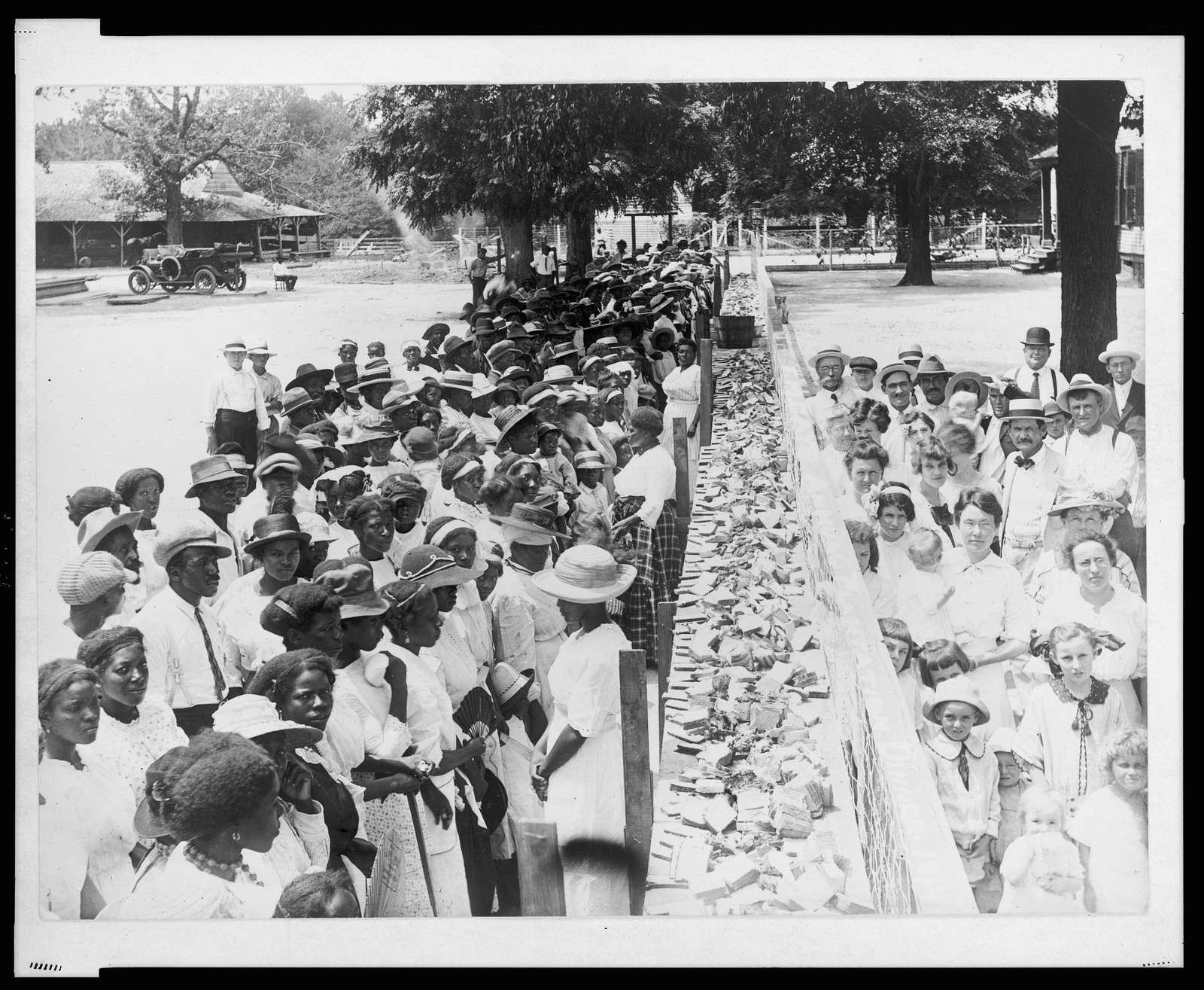F.M. Gay's annual barbecue given on his plantation every year