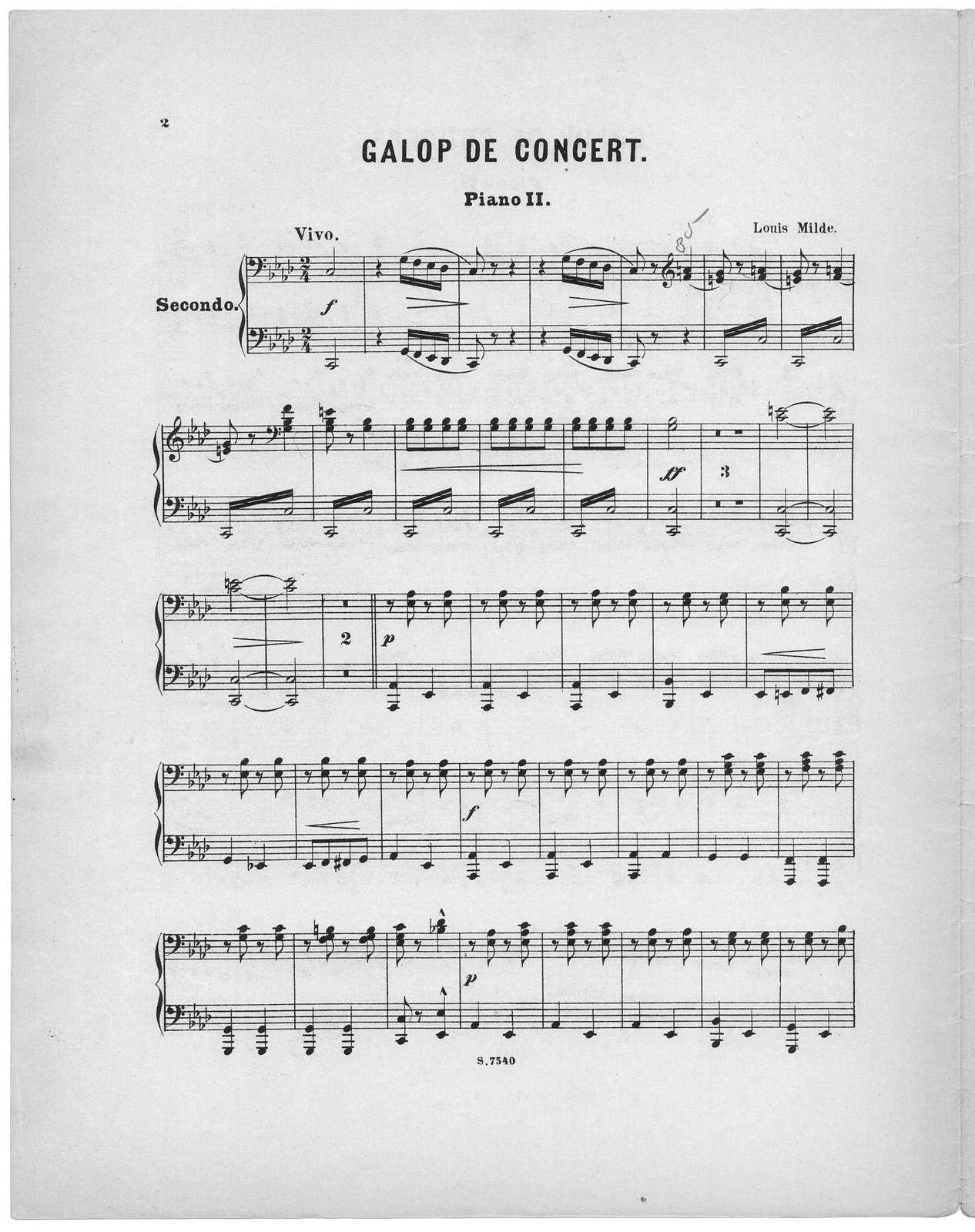 Galop de concert, op. 10
