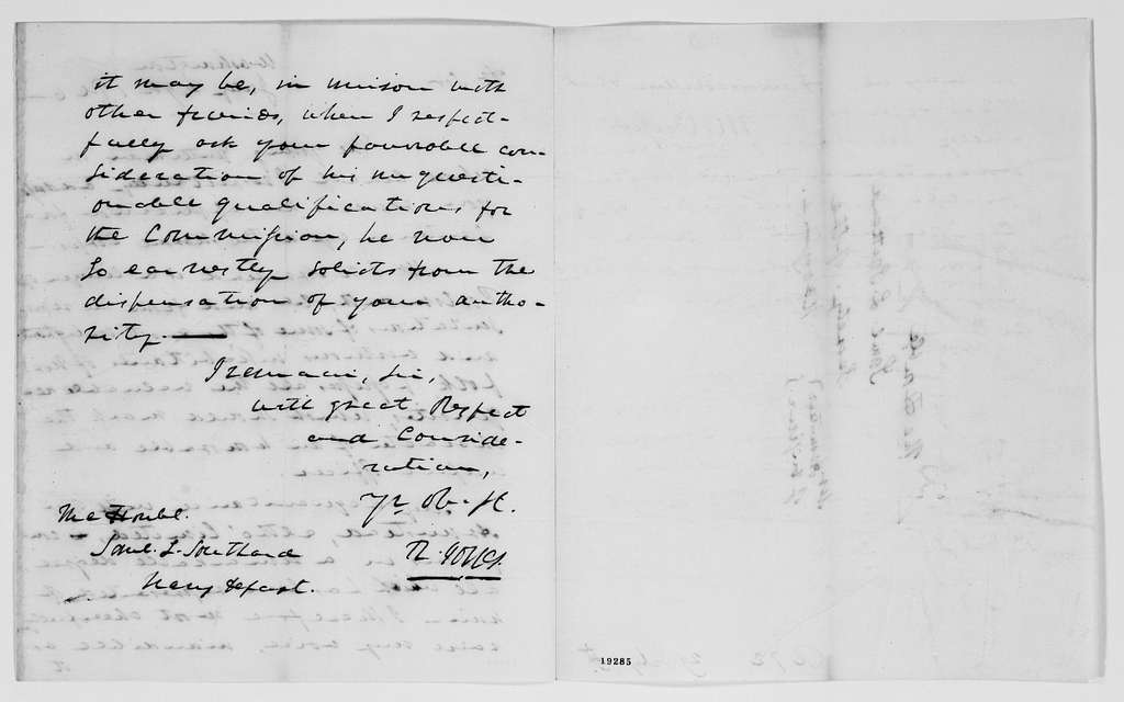 Gideon Welles Papers: Records of the Navy Department, 1805-1878; 1826, July-1827, Dec