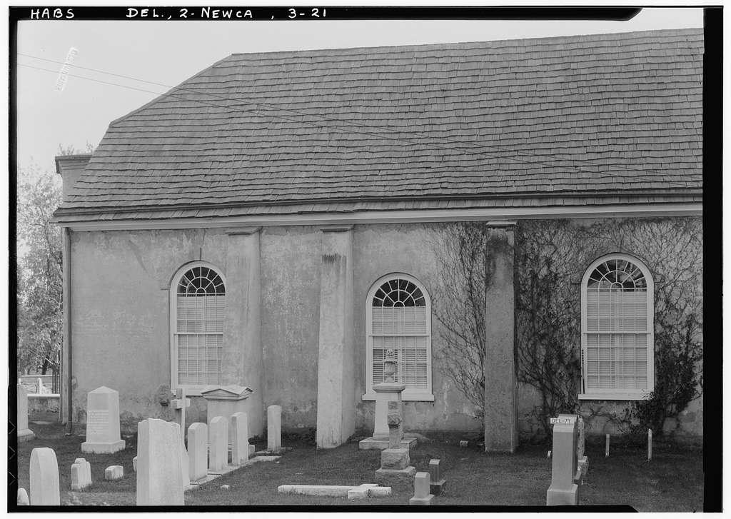 Immanuel Church (Episcopal), The Green, New Castle, New Castle County, DE
