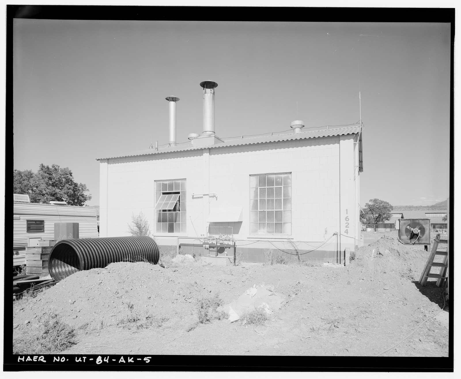 Ogden Arsenal, Boiler House, 6272 Hickory Avenue, Layton, Davis County, UT
