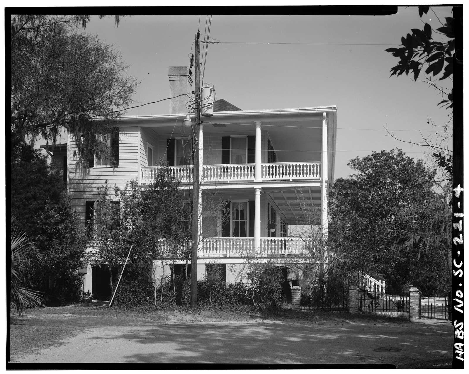 Thomas E. Ledbetter House, 411 Bayard Street, Beaufort, Beaufort County, SC
