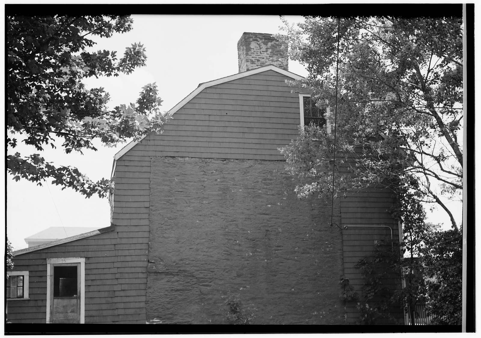 Elder John Bliss House, 2 Wilbur Avenue, Newport, Newport County, RI
