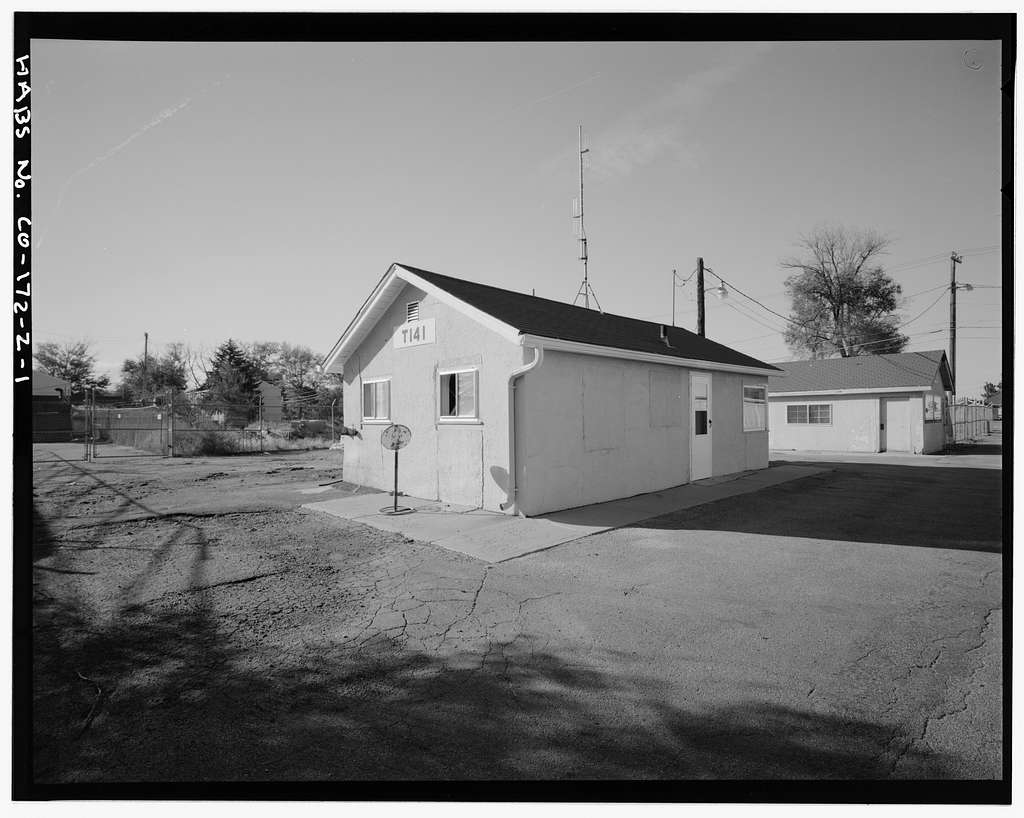 Fitzsimons General Hospital, Tool House, West Pennington Avenue, North of Building No. 140, Aurora, Adams County, CO