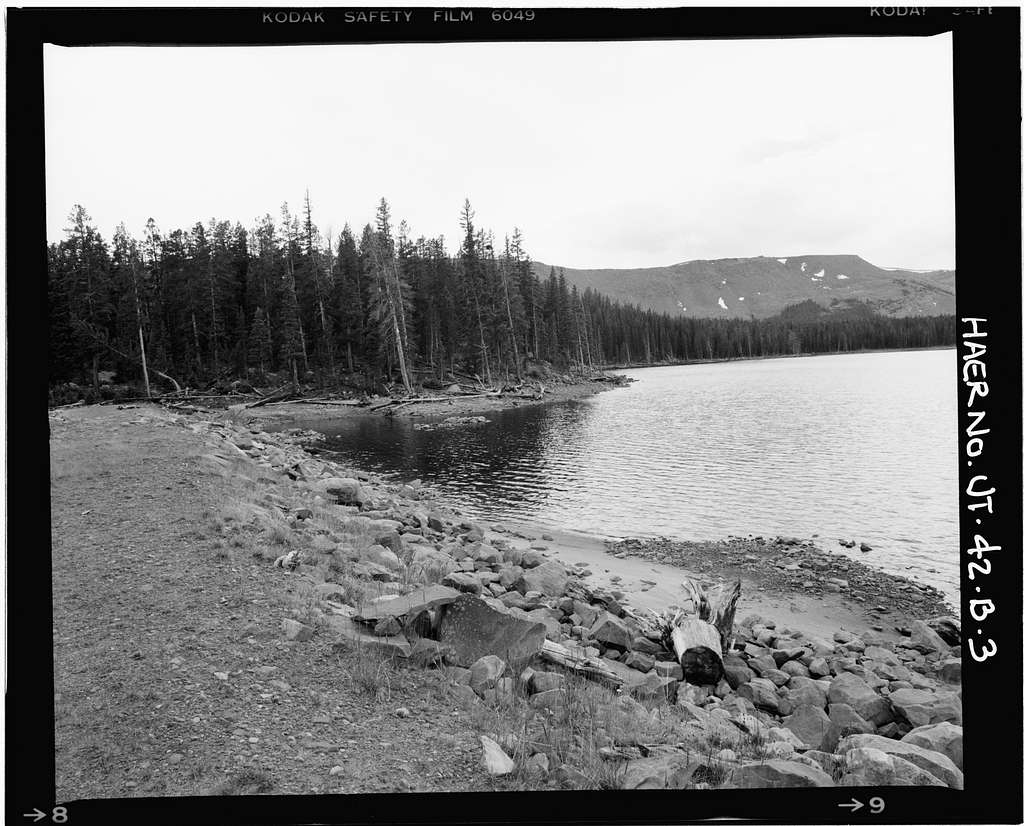 High Mountain Dams in Upalco Unit, Brown Duck Lake Dam ...
