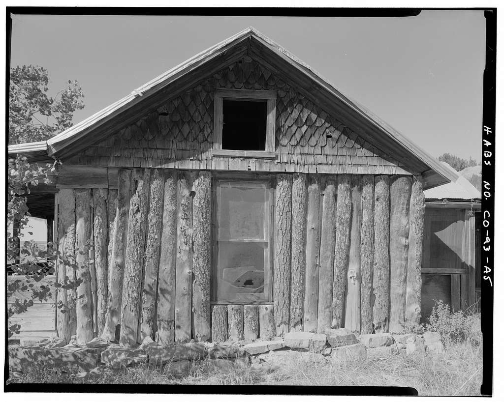 John Sanders Cross Homestead, Residence, 100 feet west of barn, Model, Las Animas County, CO