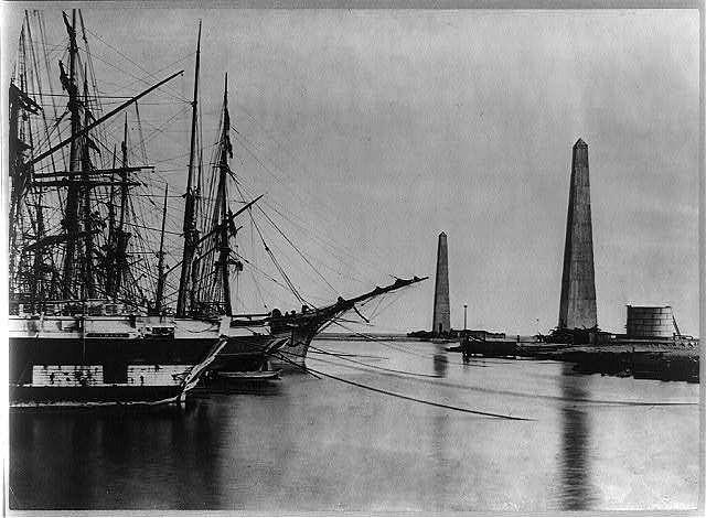 [Suez canal entrance at Port Said]