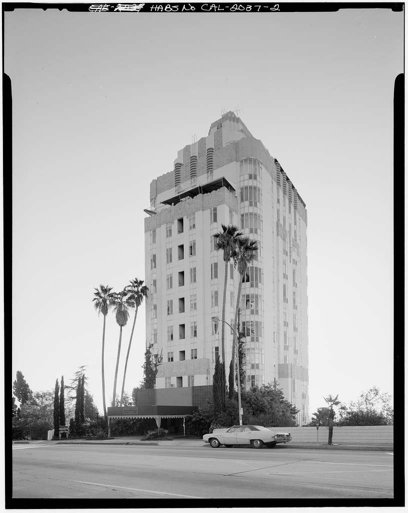 Sunset Tower Apartments, 8358 Sunset Boulevard, Los Angeles, Los Angeles County, CA