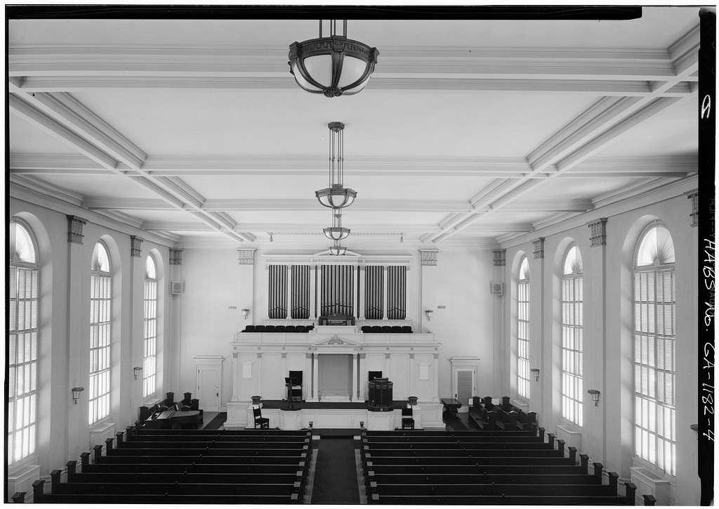 First Baptist Church, 223 Bull Street, Savannah, Chatham County, GA