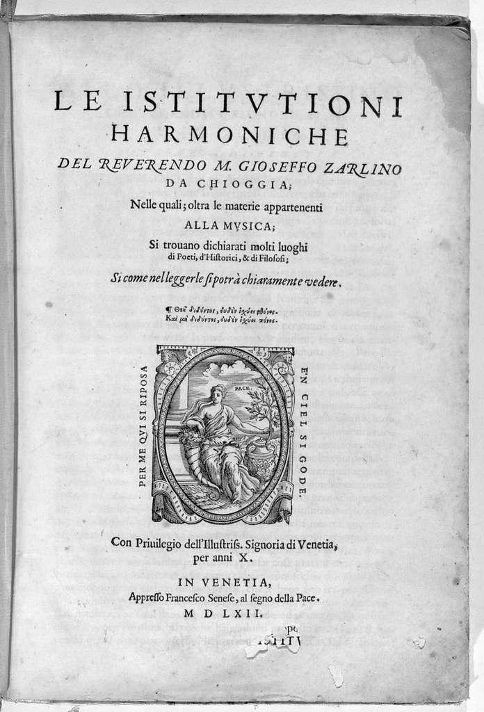 L'Istitutioni Harmoniche