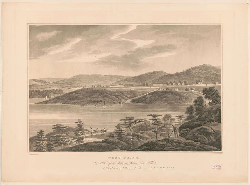 West Point / painted by W.G. Wall ; engraved by I. Hill.
